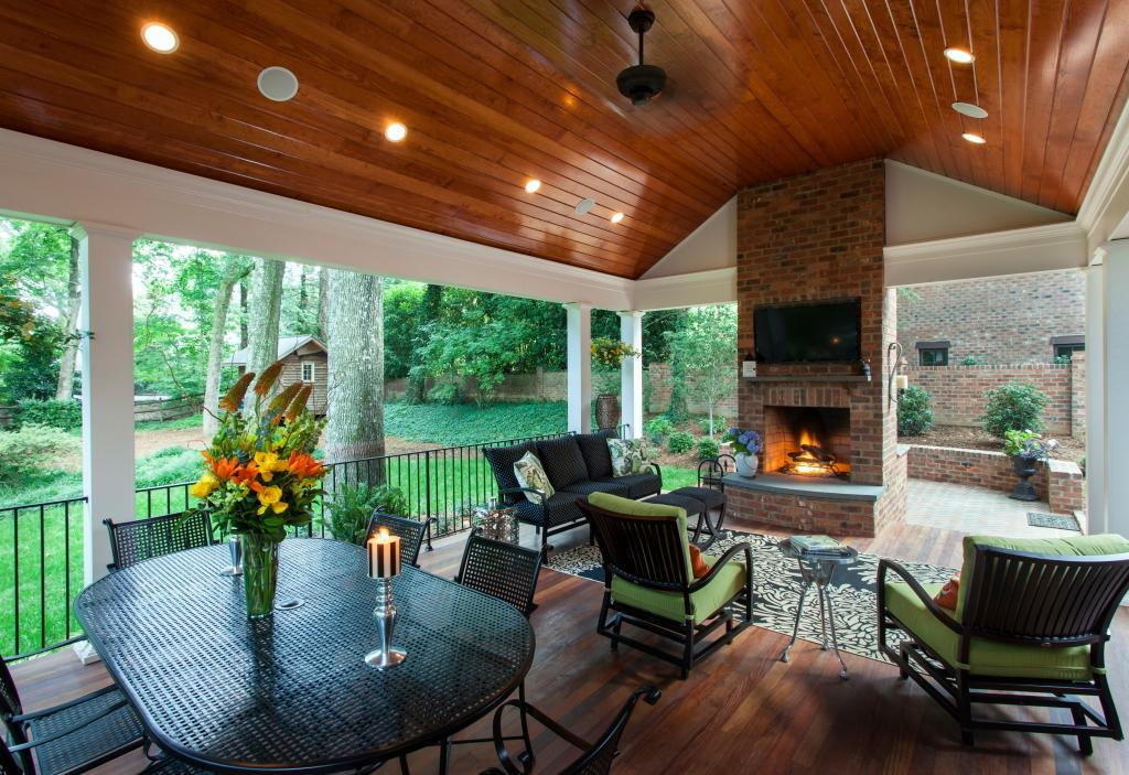 Advanced renovations charlotte remodeling contractor for Outdoor porches and patios